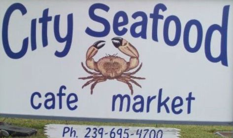 logo for City Seafood in Naples, FL
